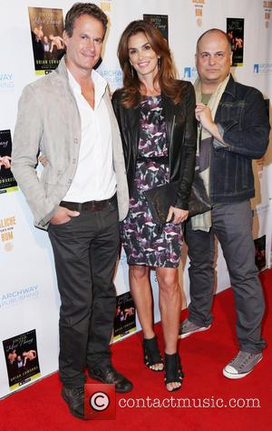 Rande Gerber, Cindy Crawford and Brian Edwards
