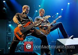 Alter Bridge, Brian Marshall and Mark Tremonti