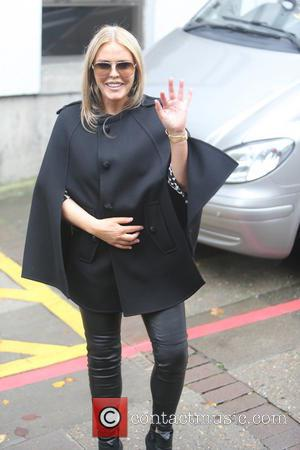 Patsy Kensit - Patsy Kensit outside the itv studios - London, United Kingdom - Tuesday 22nd October 2013