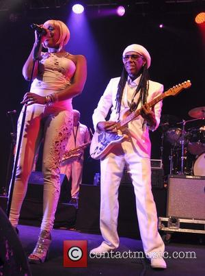 Nile Rodgers - Nile Rodgers and his band Chic performing live at Vicar Street - Dublin, Ireland - Tuesday 22nd...