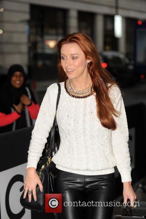 Una Foden - Una Foden of The Saturdays arrives at BBC Radio 1 - London, United Kingdom - Tuesday 22nd...