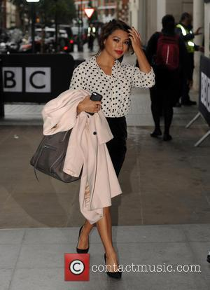 Vanessa White - Vanessa White of The Saturdays arrives at Radio 1 - London, United Kingdom - Tuesday 22nd October...