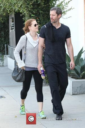 Amy Adams - Amy Adams leaving a private gym in West Hollywood with her trainer - Los Angeles, CA, United...