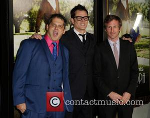 Jeff Tremaine, Johnny Knoxville and Spike Jonze