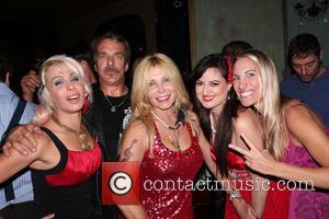 John Clark Gable, Pamela Bach Hasselhoff, Vikki Lizzi and Sabrina Parisi - Vikki Lizzi celebrates her birthday at Pour Vous...