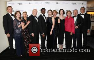 Hugh Bonneville, Phyllis Logan, Myanna Burring, Julian Fellows, Gary Carr, Cara Theobold, Samantha Bond, Michelle Dockery, Penelope Wilton, David Robb and Jim Carter