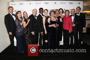 Hugh Bonneville, Phyllis Logan, Myanna Burring, Julian Fellows, Gary Carr, Cara Theobold, Esther Rantzen, Samantha Bond, Michelle Dockery, Penelope Wilton, David Robb and Jim Carter