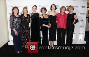 Phyllis Logan, Myanna Burring, Cara Theobold, Esther Rantzen, Samantha Bond, Michelle Dockery and Penelope Wilton