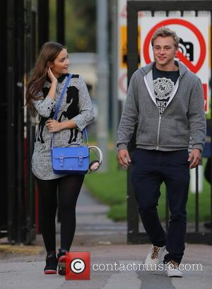 Jacqueline Jossa, Ben Hardy and David Witts - Eastenders cast members, Jacqueline Jossa, Ben Hardy, and David Witts seen taking...
