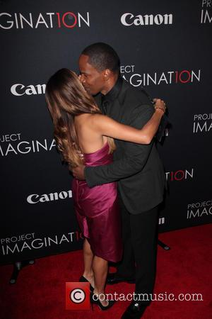 Eva Longoria and Jamie Foxx - Premiere Of Canon's Project Imaginat10n Film Festival at Alice Tully Hall - New York...
