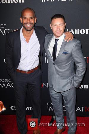 Amaury Nolasco and Lane Garrison - Premiere Of Canon's Project Imaginat10n Film Festival at Alice Tully Hall - New York...