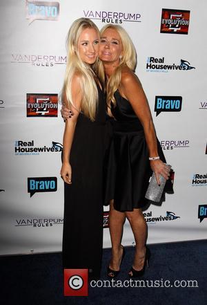 Kim Richards and Whitney Davis