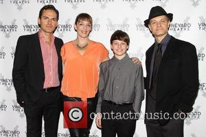 Paul Anthony Stewart, Julia Murney, Frankie Seratch and David Hyde Pierce
