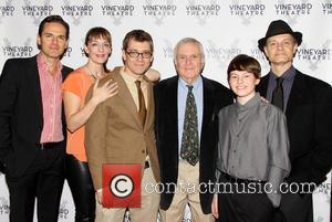 Paul Anthony Stewart, Julia Murney, Greg Pierce, John Kander, Frankie Seratch and David Hyde Pierce