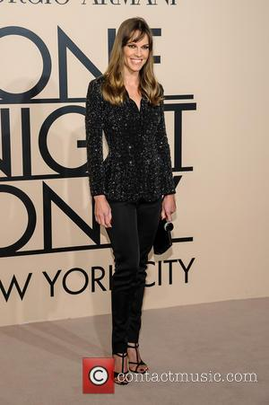 Hilary Swank - Giorgio Armani One Night Only in New York at SuperPier - New York, NY, United States -...