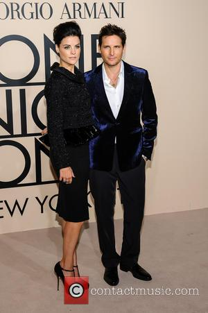 Jaimie Alexander and Peter Facinelli - Giorgio Armani One Night Only in New York at SuperPier - New York, NY,...