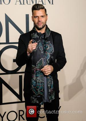 Ricky Martin - Giorgio Armani One Night Only in New York at SuperPier - New York, NY, United States -...