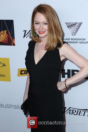 Miranda Otto - AIF Breakthrough Awards - Arrivals - Los Angeles, CA, United States - Friday 25th October 2013