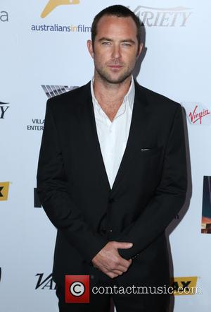 Sullivan Stapleton - AIF Breakthrough Awards - Arrivals - Los Angeles, CA, United States - Friday 25th October 2013