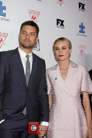 Joshua Jackson and Diane Krueger - Blue Jean Ball to benefit Autism Speaks honoring the Chuck Stafler of the FX...