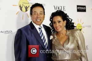 Smokey Robinson and Frances Glandney - Celebrities attend Gelila & Wolfgang Puck's Dream for Future Africa Foundation honoring Vogue Italia...