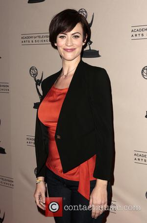 Maggie Siff - Television Academy presents an 'Evening with Sons of Anarchy' held at Leonard H. Goldenson Theatre - Arrivals...