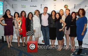 Fran Drescher, Hillary Bibicoff, Joan Wages, Guests and Rita Moreno