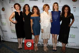 Rebecca Wisocky, Ana Ortiz, Susan Lucci, Joan Wages, Mariana Klaveno and Judy Reyes
