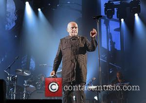 Peter Gabriel - Peter Gabriel performs live on his 'Back To Front' tour at Manchester Arena - Manchester, United Kingdom...