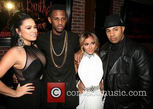 Adrienne Bailon, Fabolous, Emily B. and Lenny S