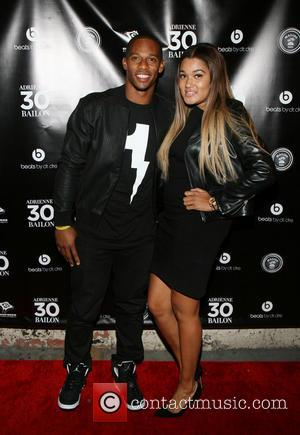 Victor Cruz and Jacqueline Cruz - Adrienne Bailon's 30th Birthday Celebration held at XXI - New York City, NY, United...