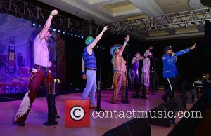 Jim Newman, Bill Whitefield, Felipe Rose, Eric Anzalone, Alex Briley, Ray Simpson and Village People
