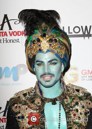 Adam Lambert - Halloweenie 2013 Benefiting Gay Men's Chorus of Los Angeles (GMCLA) held at The Los Angeles Theater -...