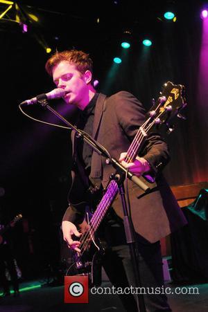 Richard Jones - The Feeling performing at O2 Shepherd's Bush Empire - London, United Kingdom - Friday 25th October 2013