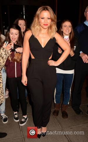 Kimberley Walsh - Celebrities outside RTE studios for 'The Late Late Show' - Dublin, Ireland - Friday 25th October 2013