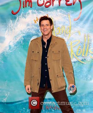 Jim Carrey - Jim Carrey promotes his new children's book 'How Roland Rolls' at Barnes & Noble at The Grove...