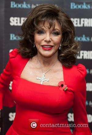 Joan Collins - Joan Collins signs her latest memoir 'Passion for Life' at Selfridges - London, United Kingdom - Saturday...