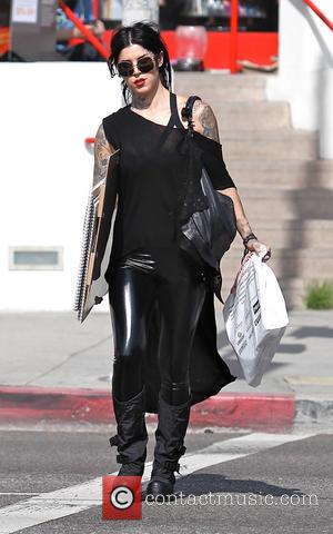 Kat Von D - Kat Von D shops for art supplies in Los Angeles - Los Angeles, CA, United States...