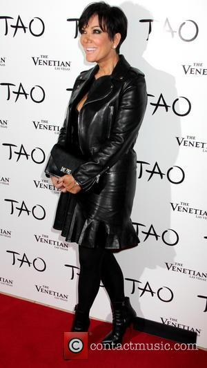 Kris Jenner - Reality Television Star Kim Kardashian is joined by her family and fiance Kanye West, at Tao Nightclub...