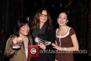 Ann Harada, Tina Fey and Laura Osnes