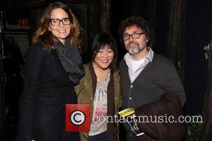 Tina Fey, Ann Harada and Jeff Richmond