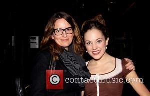 Tina Fey and Laura Osnes