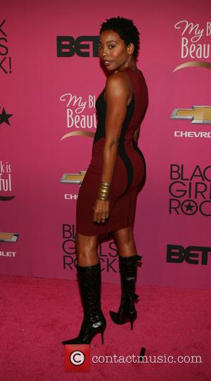 Erica Ash - BET Black Girls Rock CoverGirl Style Stage on the Red Carpet at New Jersey Performing Arts Center...