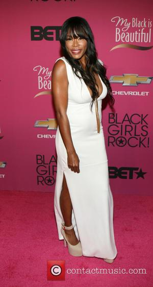 Golden Brooks - BET Black Girls Rock CoverGirl Style Stage on the Red Carpet at New Jersey Performing Arts Center...