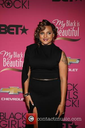 Marsha Ambrosius - BET Black Girls Rock CoverGirl Style Stage on the Red Carpet at New Jersey Performing Arts Center...