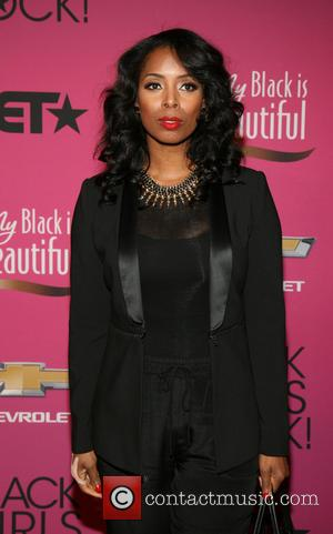 Tasha Smith - BET Black Girls Rock CoverGirl Style Stage on the Red Carpet at New Jersey Performing Arts Center...
