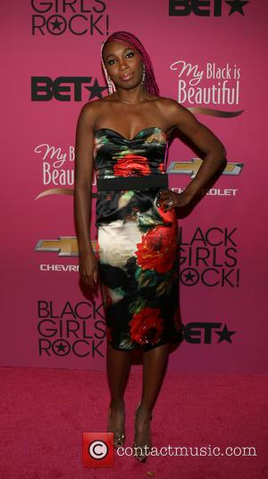 Venus Williams - BET Black Girls Rock CoverGirl Style Stage on the Red Carpet at New Jersey Performing Arts Center...