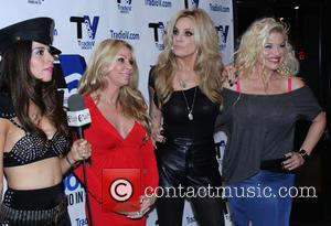 Katie Cleary, Sharise Neil, Athena Kottak and Bobbie Brown - Ex Wives of Rock - Hollywood, CA, United States -...