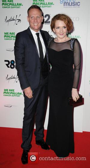 Jennie Mcalpine and Antony Cotton - Celebrities arrive at The Concorde Hanger, Manchester Airport for The Gavin Blyth Macmillan Ball....