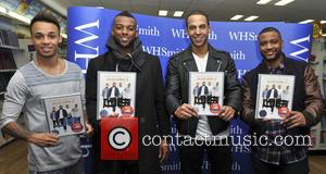 JLS - JLS signing at WHSmith in Milton Keynes - London, United Kingdom - Saturday 26th October 2013